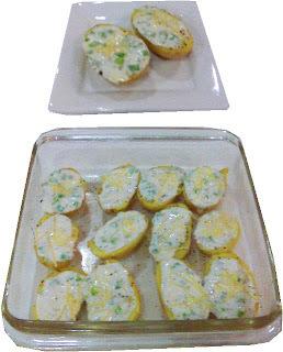 Papitas horneadas al queso azul
