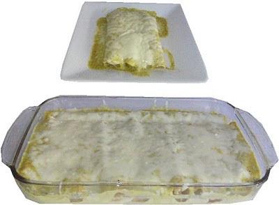 Enchiladas de poblano