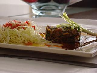 salada de repolho cru com vinagrete