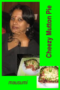 Cheezy Mutton Pie ..a HEALTHY recipe