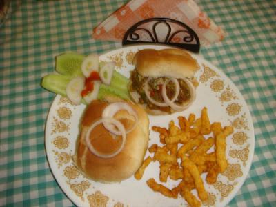 Keema Burger
