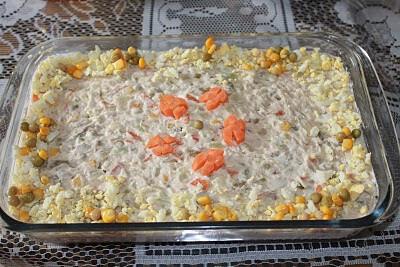Ensaladilla Rusa - Saladinha com Maionese e Legumes