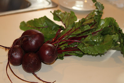 Salada de Beterraba com Nozes e Alho