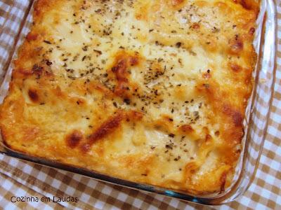 Lasanha Mista [Lasagna Mixed]