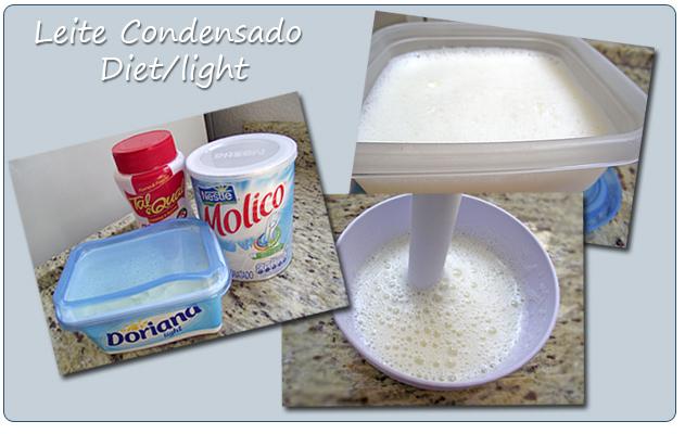 como fazer doce de leite diet de cortar
