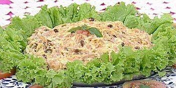 salpicão de frango defumado e frutas