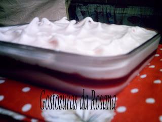 torta russa com gelatina