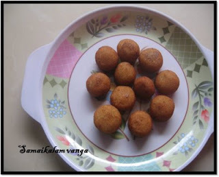 how to make sweet bonda