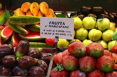 Frutas de mazapan