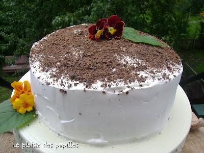 ~Gâteau étagé à la banane royale~
