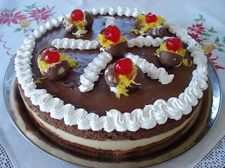 """Torta  mousse """"Black and White"""""""