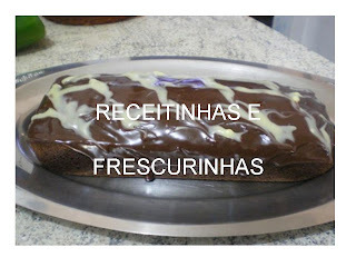 bolo de chocolate com sorvete do edu guedes