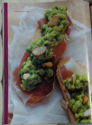 Bruschettas de habas y arvejas - El Gourmet.com