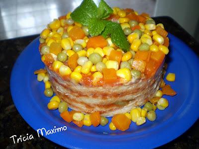 Torta de pão de forma da minha mãe
