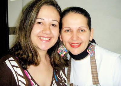 Eu e Isamara Amancio