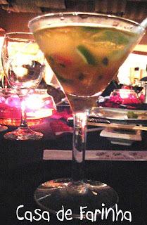 de caipifruta de morango com vodka