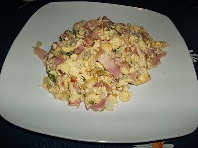 Ovos Mexidos com Bacon