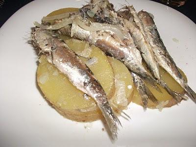 sardinha fresca frita