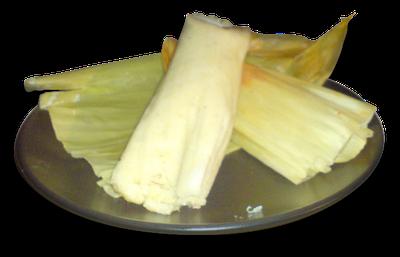 tamales con mantequilla