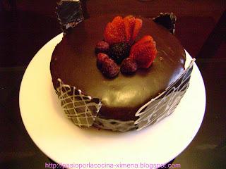 cocina con chocolate
