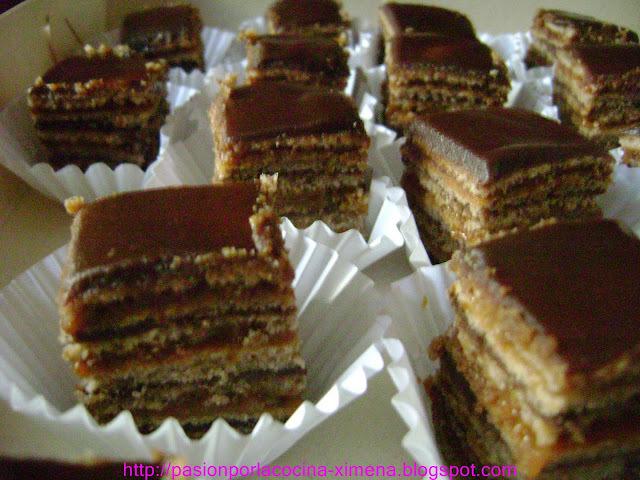 Torta de panqueque chocolate