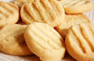 Receita de Biscoito Amanteigado de Laranja