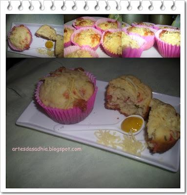 cupcake salgado de queijo Tirolez
