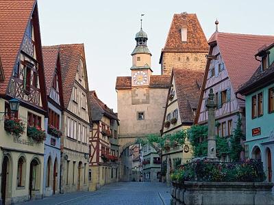 Série Cidades de Sonho - Rothenburg ob der Tauber