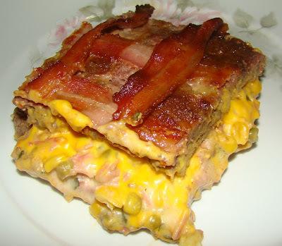 Carne Moída Recheada aos Quatro Queijos