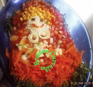 Salada Chapeuzinho Vermelho