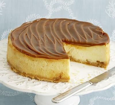 Karamelový cheesecake s bielou čokoládou (takto nejako asi chutí nebo)