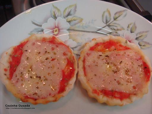 """Mini-Pizzas de """"Terroristas"""""""