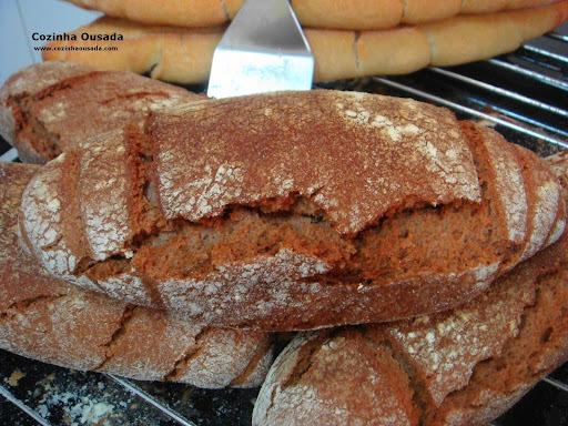 Pão Preto Australiano mas nem tanto!
