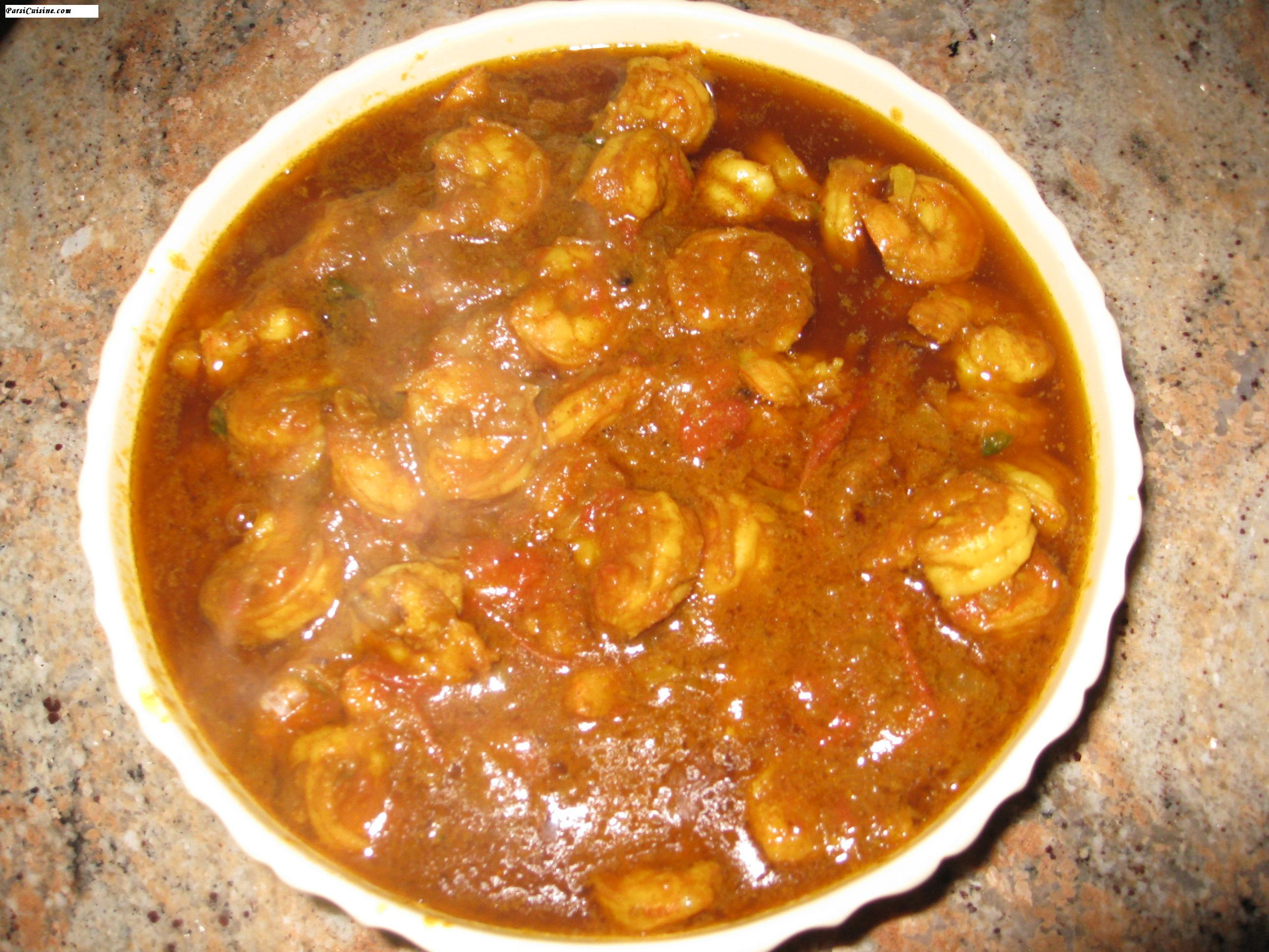 Shrimp Masala Curry