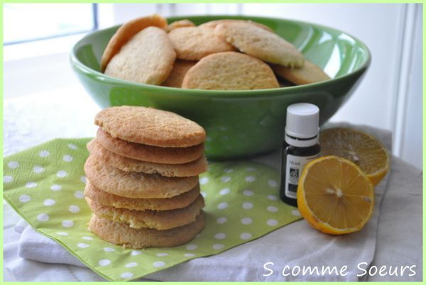 Sablés à l'épeautre et au citron
