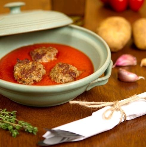 Klasická kuchyňa trochu inak – Morčacie guľky v paradajkovej omáčke