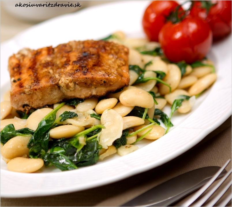 Tip 4 – nutričné rozdelenie dňa a skvelý losos z marinády
