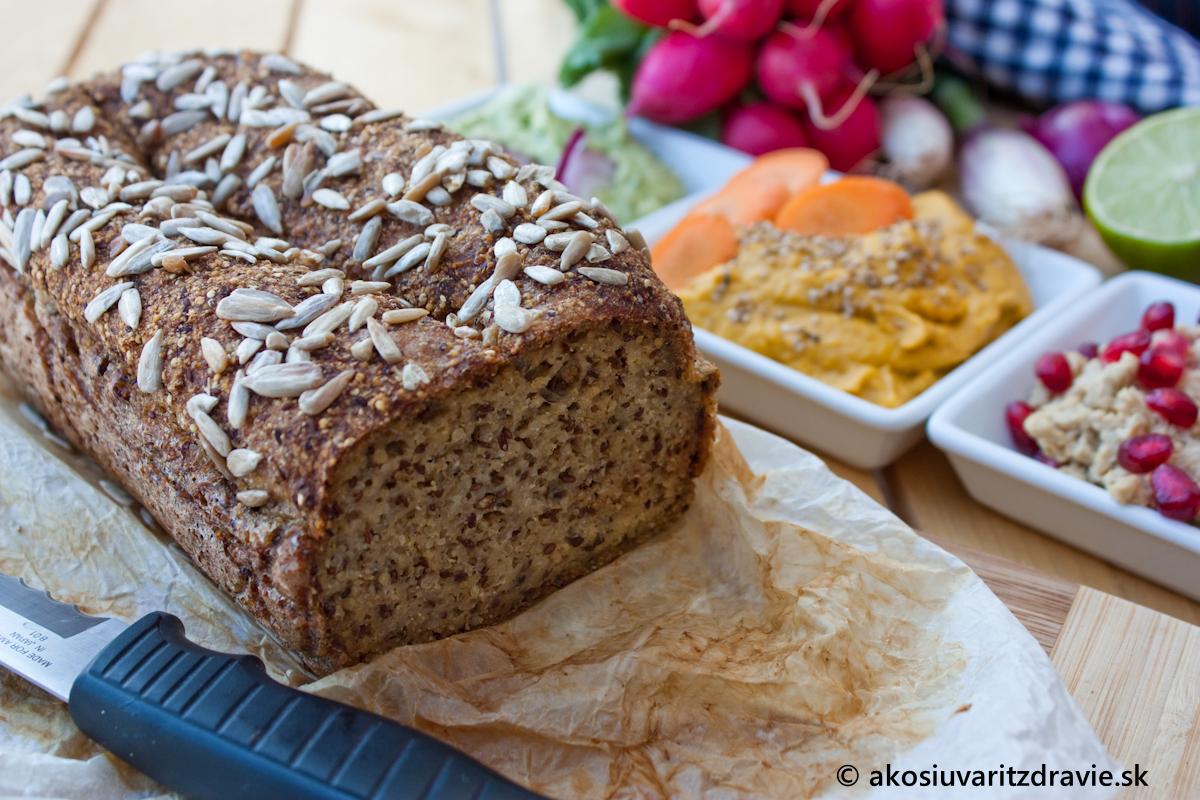 Prirodzene bezlepkový, zdravý chlebík – hypoalergénny