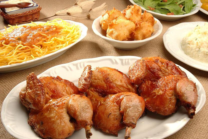 qual a salada para acompanhar um creme de galinha