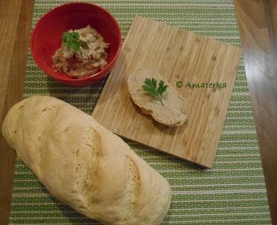 Pašteta od junećega mesa iz juhe