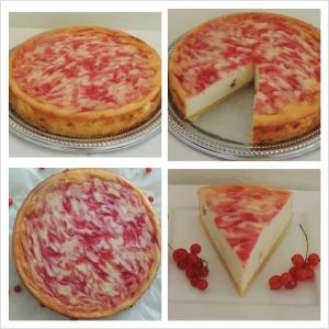 Tvarohovo – ríbezľová torta