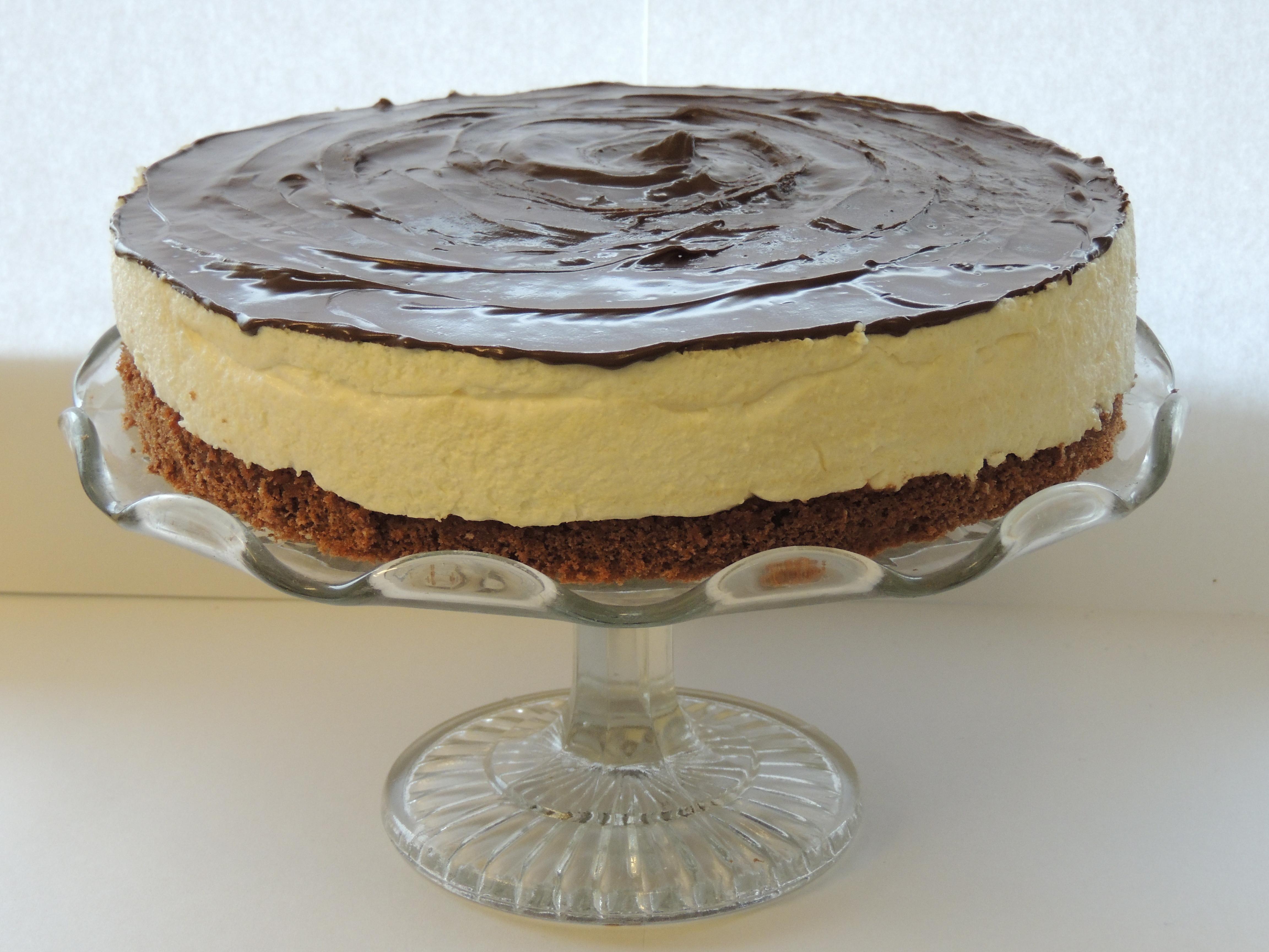 Tvarohová (bomba) torta
