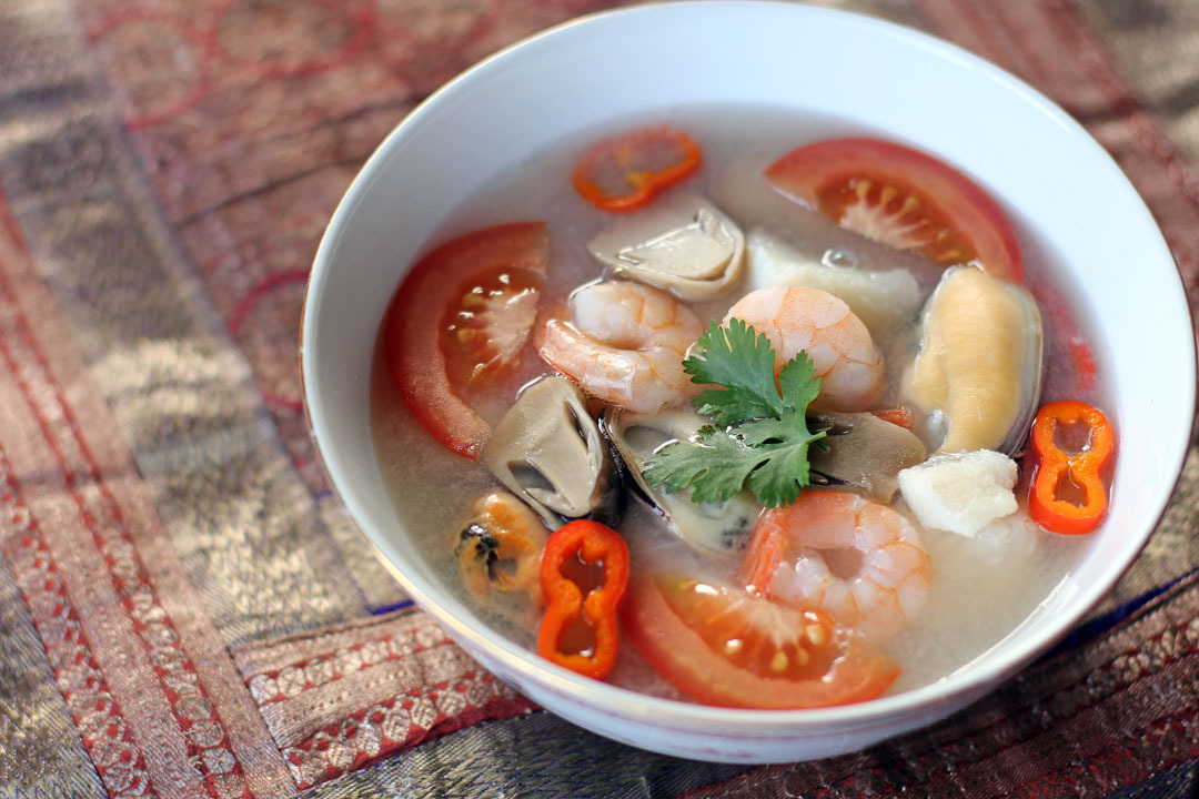 Thai Seafood Soup (Tom Yum Talay)