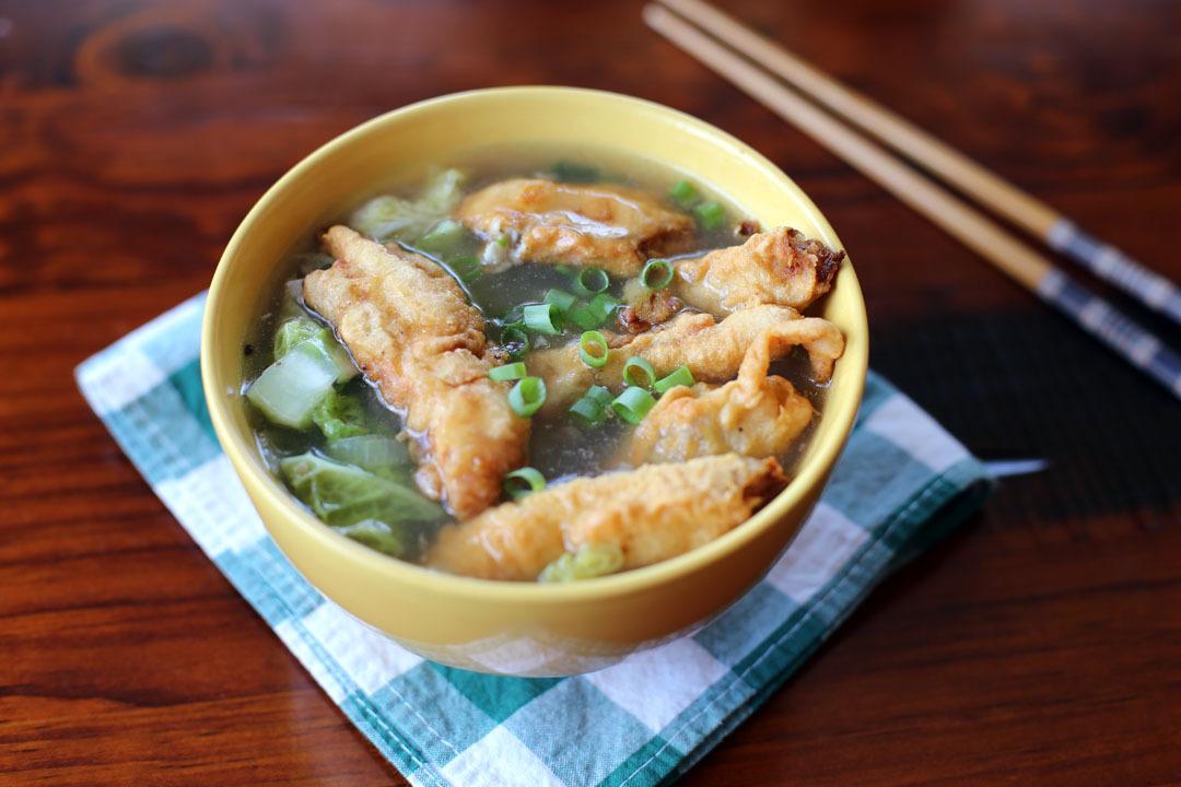 Tutuoyu Geng (Spanish Mackerel Soup)