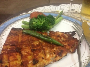 Grilled Fish-Indian style