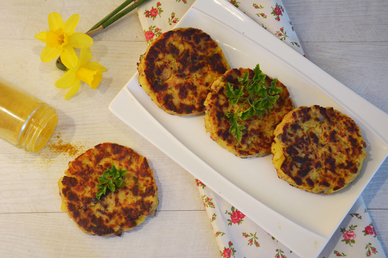 Croquettes de hareng et pommes de terre au curry