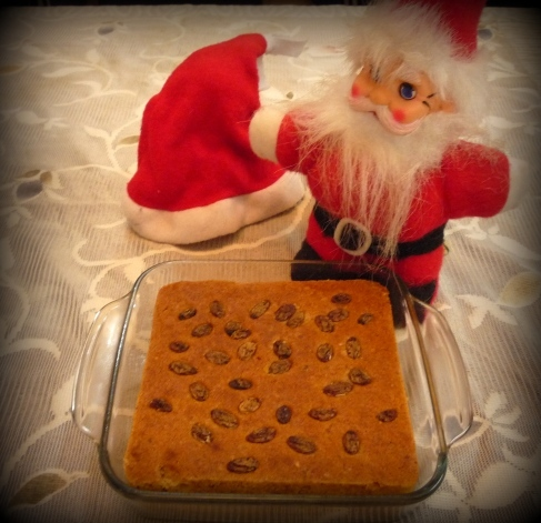 Christmas Fruit Cake (Eggless)