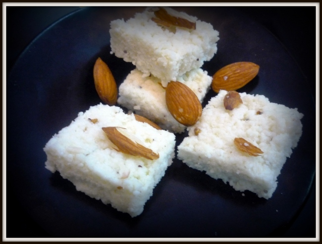 Chhena Kalakand (Kolkata/West Bengal Special)