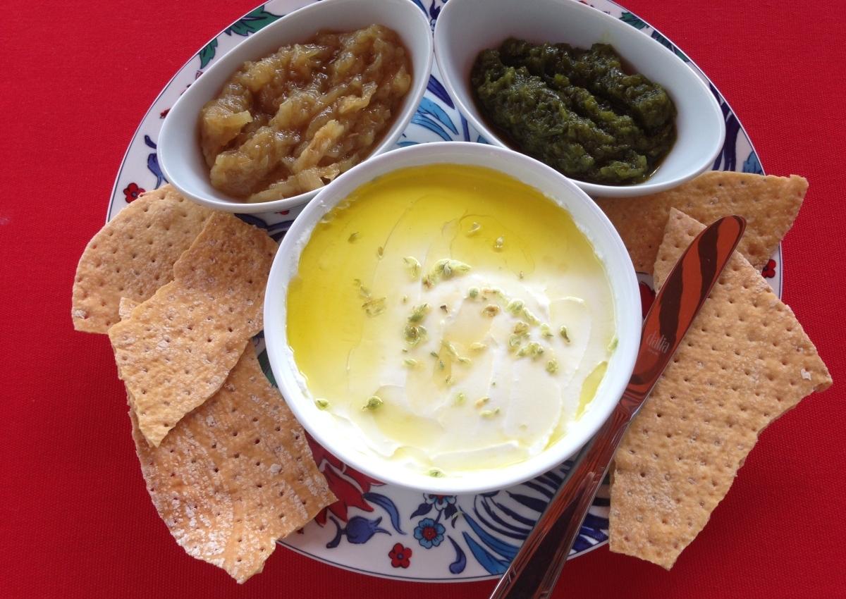 Para picar: mermelada de pimientos verdes