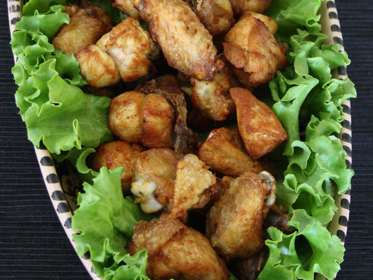 Pollo fritto (Frango a passarinho)